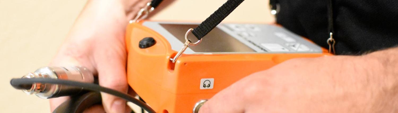 Elektroakustische Messung zur Leckortung (Leckageortung)