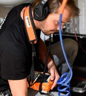 Leckageortung von Thermodetect GmbH, Hiddenhausen